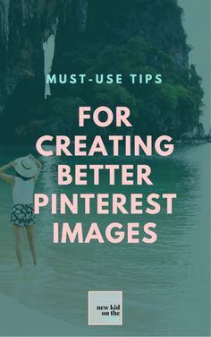 Pinterest is essential when it comes to blogging and even owning your own online business. But you might think that as long as you're actually on Pinterest, you're doing well. Well, that may or may not be the case. The Pinterest images you create and use to showcase your website can make all the difference when getting potential readers to click-through to your site. Here are my tips for creating great-looking Pinterest images that drive traffic and get repins.