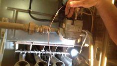How to adjust furnace pilot light Sliding Panels, Sliding Patio Doors, Patio Door Curtains, Front Door Porch, Solid Surface Countertops, Diy Tv Stand, Bathroom Light Fixtures, Wooden Desk, Room Wallpaper