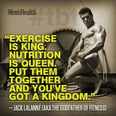 """""""Eat right and you can't go wrong."""" Jack LaLanne's #fitness advice is as relevant today as it was 80 years ago: http://www.menshealth.com/fitness/jack-lalannes-lasting-fitness-contributions #tbt #MHtbt"""