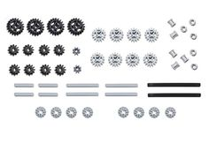 LEGO Technic gear & axle SET Pack of 50 pcs genuine LEGO gear and axle parts as shown in photo. PLEASE NOTE: This item does not come in a box or official LEGO packaging. The gear pack arrives in a sealed cello baggie with loose parts inside. Lego Technic Truck, Lego Gears, Bevel Gear, Set Game, Science Fair Projects, Learning Through Play, Lego Creations, Building Toys, Gifts