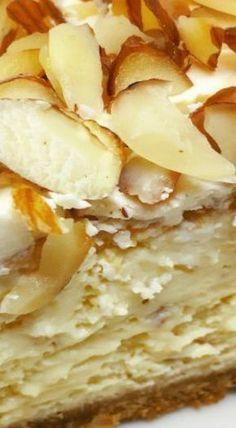 White Chocolate Amaretto Cheesecake