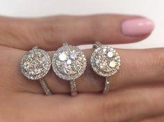 The way to brighten up Monday mornings. #thediamondstoreuk #diamonds #engagement #wedding #ring #sparkle