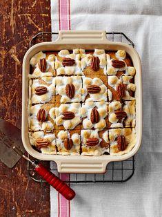 Sweet Potato Pecan, Mashed Sweet Potatoes, Sweet Potato Casserole, Sweet Potato Dessert, Pecan Desserts, Pecan Recipes, Dessert Recipes, Fall Desserts, Dessert Bars