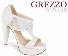 Zapatos Para Novia Tacon Ancho