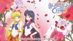 Super Sailor Venus & Super Sailor Mars by SM Crystal xuweisen fan art