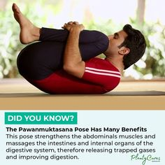 """PlantCures- Natural Remedies's Instagram photo: """"Yoga Love! 💜 Follow @plantycures for Daily Natural Remedies and Tips! 🔔 Turn on our post notifications to learn something new every day!…"""" Trapped Gas, Everyday Workout, Health Facts, Did You Know, Natural Remedies, Massage, Muscle, Yoga, Poses"""