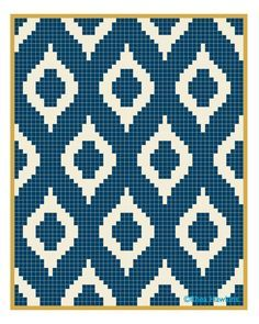 ikat knit chart - Google Search
