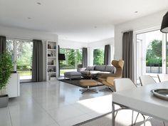 sunshine wohnbeispiel wohnzimmer living haus - Fantastisch Modernes Wohnzimmer Am Abend