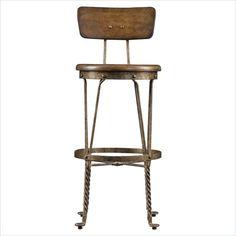 European Farmhouse - Artisan's Apprentice Barstool in Blond - 018-61-83 - Stanley Furniture