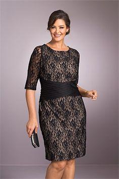 Women's Dresses - Sara Lace Sleeved Dress
