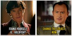 """I think Mycroft tried to """"Get a Goldfish"""" if you will, only to find it's hard work to make and keep friends, and that makes him impressed- that his brother could put aside his own thoughts/needs/The Work to focus on someone else's feelings and opinions where Mycroft himself could not. Mycroft would know that while he is the greater Holmes, Sherlock is a better man because he is a GOOD man."""
