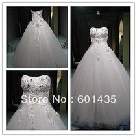 WR2112 Newest Tulle Ball Princess Wedding Dresses