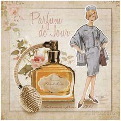 Parfum de Jour Prints by Bruno Pozzo at AllPosters.com