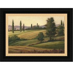 Accessories - Traditional Tuscan Landscape II