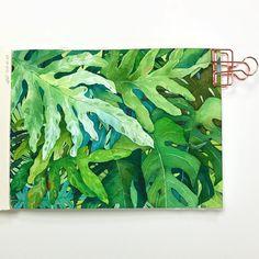 네 눈앞에 내 그림🌷 (@leegreeem) • Instagram photos and videos Watercolor Plants, Paint Colors, Artwork, Painting, Painted Flowers, Leaves, Free Shipping, Watercolor Painting, Paint Colours