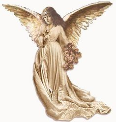 Victorian Angel Cut Out ~ Vintage Ephemea