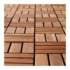 IKEA - RUNNEN, Floor decking, outdoor, Floor decking makes it easy to refresh your terrace or balcony.The floor decking can be cut if you need to fit it around a corner or a poleYou can easily take the floor decking apart and put it together again if you want to clean the floor underneath.You can easily protect your floor against wear and tear by reglazing it on a regular basis, about once a year.