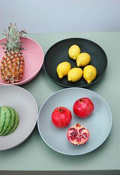 Tutti Frutti   mega bowl   colours  #zuperzozial #biodegradable #capventure #dutchdesign #product #megabowl #tuttifrutti