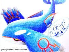 Kyogre From Pokemon