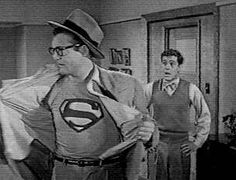 Superman TV Show. This show had already been in reruns a long while when I began watching it. This was the original superman and Chris Reeves did him justice on the large screen. I loved superman.