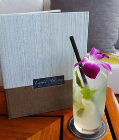 Mojito at Wai'olu Ocean View Lounge can be customized with fruit purees including: Guava, Lychee, Coconut, and more  Trump International Hotel Waikiki   Oahu, Hawaii