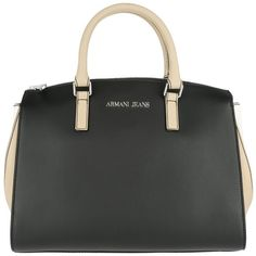 e74847dd6b5 Armani Jeans Handle Bag - Top Handle Bag Nero Beige White - in black -  Handle Bag for ladies