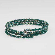 Deja Vu - Armbänder (grün-gelb)