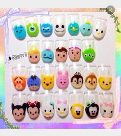 Tsum tsum nails are perfect