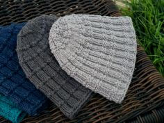 For her - the Madingley Beanie Hat: Textural detailing and a chill-beating yarn combination provide a must-have knitted beanie for the coming autumn season. The Madingley Beanie features a double-banded rib pattern which gives a comfortable fit with that extra feminine touch.