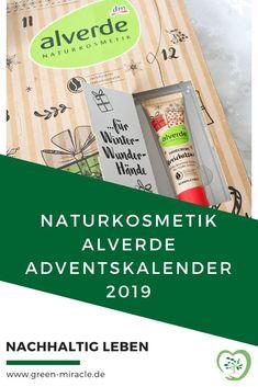 Das ist im Naturkosmetik alverde Adventskalender 2019!