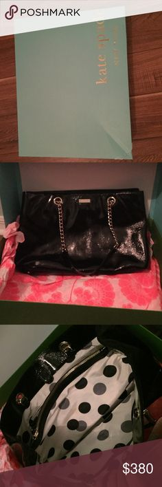 Selling this Cooper square Black Kate Spade Helena purse on Poshmark! My username is: kamhernandez. #shopmycloset #poshmark #fashion #shopping #style #forsale #kate spade #Handbags