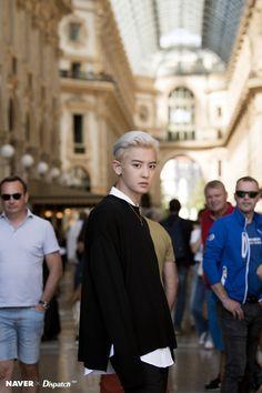 Chanyeol NAVER x Dispatch Photoshoot in Milan September 2019 Exo Chanyeol, Kyungsoo, Kpop Exo, Disney Movie Quotes, Best Disney Movies, Chanbaek, Chansoo, Boruto, Rapper