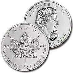 2010 Canadian (1 oz) Silver Maple Leaf