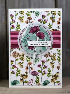Friday Video / Shared Passion Card - Creative with Stampin 'Up! Scrapbooking, Scrapbook Cards, Karten Diy, Stampin Up Catalog, Ppr, Stamping Up Cards, Butterfly Cards, Fall Cards, Card Sketches