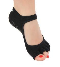 Toesox Mary Jane Bella Half Toe Yoga Socks - Free Shipping