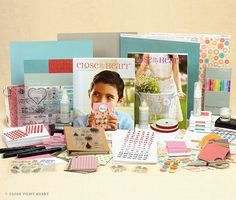 Close to My Heart Cardmaker New Consultant Kit www.fancymelissa.com #NovtoFeb #scrapbook #craft #directsales #ctmh #hopscotch