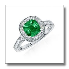 Gifting your beloved with an Emerald Engagement Ring indicates immortality and faith between both of you.