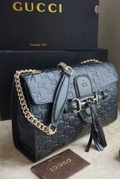 032581e943b2 The Gucci Emily Guccissima Large Chain Shoulder Bag is one-of-a-kind  masterpiece.