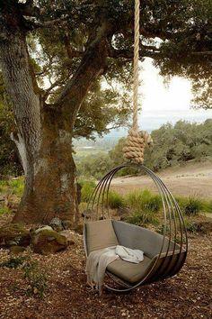 put seat other direction (sideways like hammock)