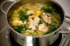 Salmon Fish Soup Recipe
