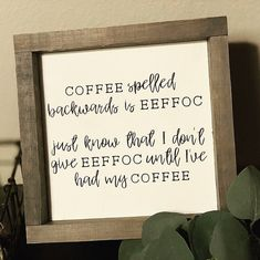 p/eeffoc-coffee-sign-wood-signs-coffee-bar-kitchen-signs-funny-signs-farmhouse-signs - The world's most private search engine Coffee Bar Signs, Coffee Bar Home, Coffee Is Life, Coffee Love, Coffee Bar Ideas, Funny Kitchen Signs, Funny Signs, Bar Design, Diy Papier