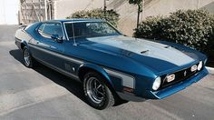 1971 Ford Mustang T-5 Mach 1   Mecum Auctions