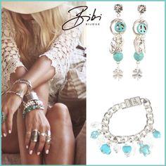 Turquoise collection by Bibi Bijoux. #bibi #bijoux #bibibijoux #turquoise