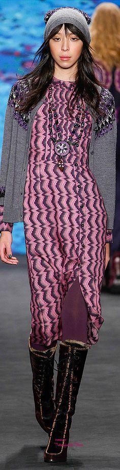 Farb-und Stilberatung mit www.farben-reich.com - #NYFW Anna Sui Fall 2015 RTW ♔THD♔