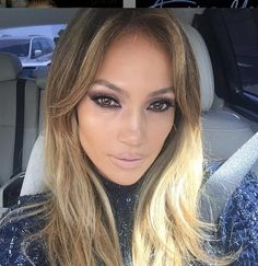 """Back in LaLa land... And I love it...:) #sunnyday #everyday #FeeltheLight"" --Jennifer Lopez, who posted this selfie on Instagram in March 2015"