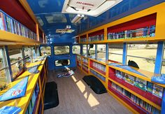 Rolling Thunder book bus.