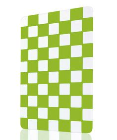 Green Checkerboard Cutting Board