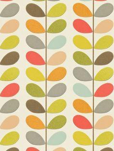 Wall paper pattern retro orla kiely new ideas Retro Wallpaper, Trendy Wallpaper, Wallpaper Roll, Wall Wallpaper, Pattern Wallpaper, Wallpaper Ideas, Vintage Wallpapers, Wallpaper Wallpapers, Wallpaper Designs