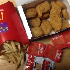 McDonald's chicken nuggets. | 26 Food Hacks That Will Make You Laugh But Also…