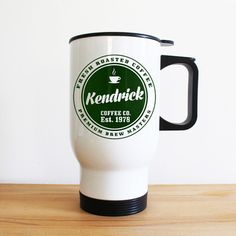Check this out!! The Kitchen Gift Company have some great deals on Kitchen Gadgets & Gifts Personalised Coffee Company Travel Mug #kitchengiftco